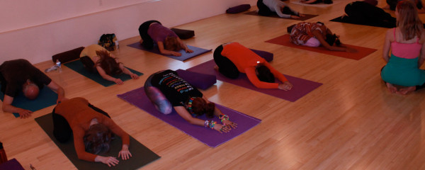 Restorative Yoga gives & gives