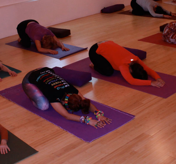 Restorative Yoga gives & gives